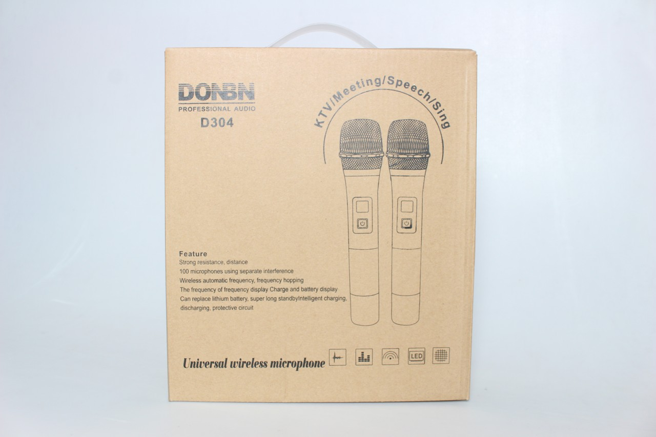 Vỏ họp micro karaoke donbn d304