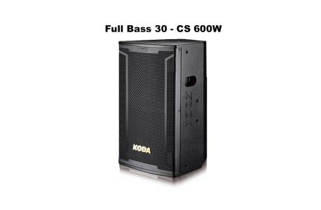 Loa Full KODA KD12 Bass 30, 600W