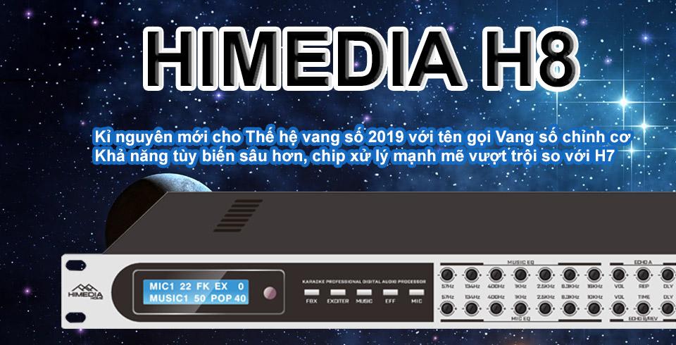 Vang số Himedia H8 - Vang Số Karaoke chính hãng - HayAudio