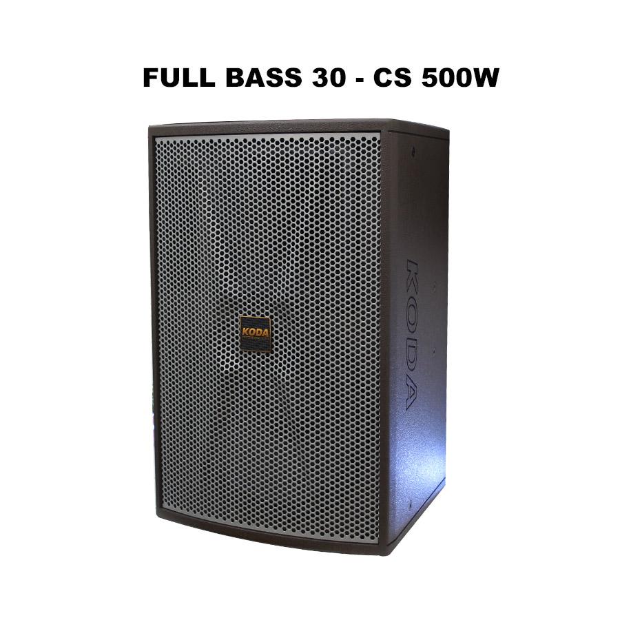 Loa Full Koda KT121 Bass 30, CS 500W mạnh mẽ